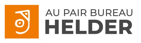 Au Pair Bureau HELDER logo with slogan